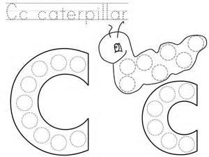 dot letter printable 171 funnycrafts