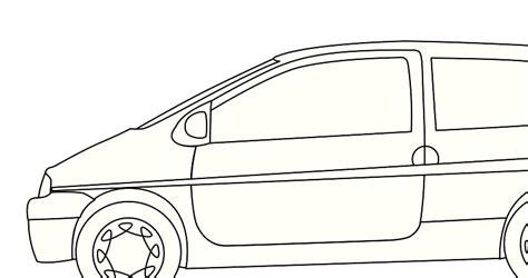 Automobile Outline Clip by Car Outline Clipart 75