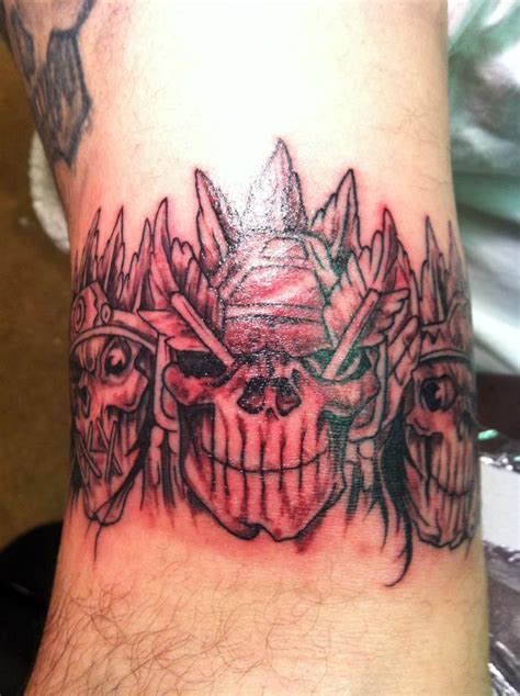 75 Wonderful Evil Tattoos Evil Skull Tattoos