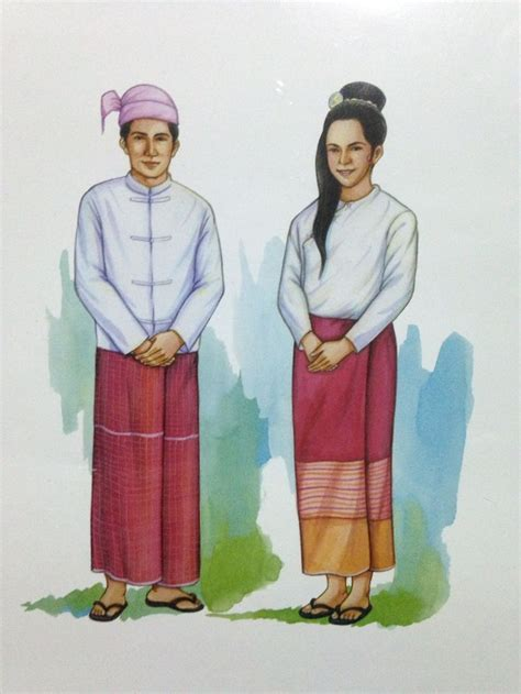 national costumes of asean member states national costumes clipart 20