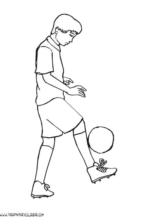 imagenes de futbolistas faciles para dibujar dibujos deporte futbol 098