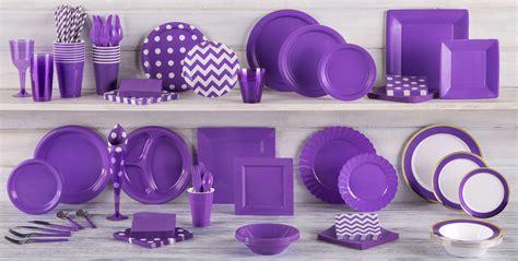 city plates purple tableware purple supplies city canada
