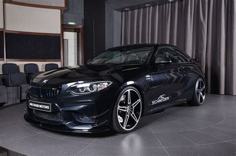 bmw black sapphire black bmw m2 is all in on what ac schnitzer is