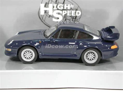 Die Cast High Speed 143 1996 porsche 911 gt2 diecast model car 1 43 scale die cast by high speed blue