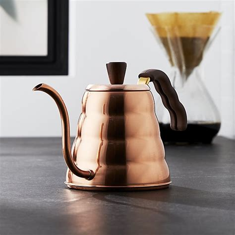 crate and barrel tea pot hario buono copper tea kettle crate and barrel