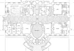 Floor Plan For Mansion by Mansion Floor Plans The White House Ground Floor