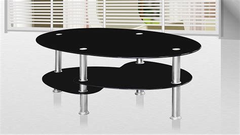 Black Glass Coffee Table Black Glass Coffee Table Homegenies