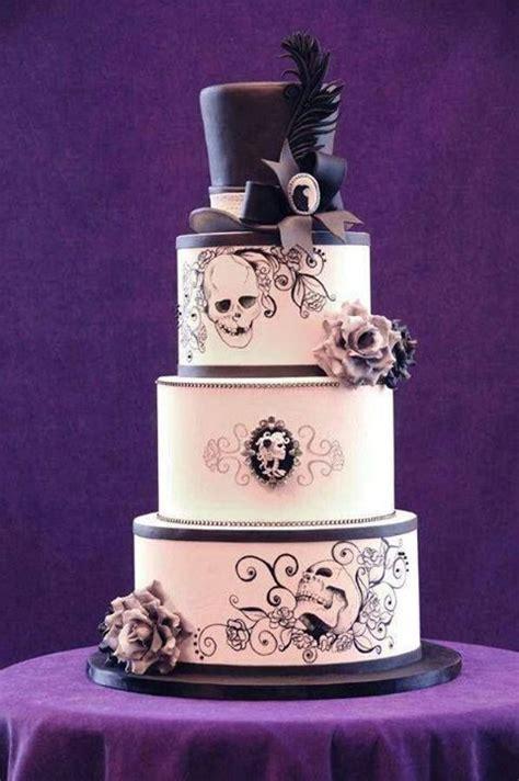 Hochzeitstorte Totenkopf by Skull Wedding Cake Skull Wedding Skull