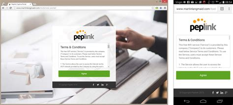 splash page template free peplink captive portal splash page template