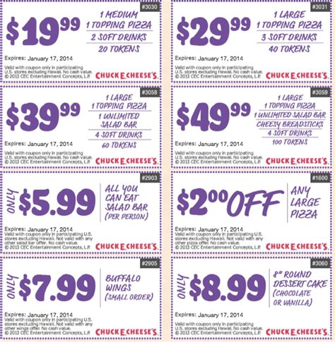 printable coupons 2014 2017 2018 coupons chuck e cheese 2014 2017 2018 best cars reviews