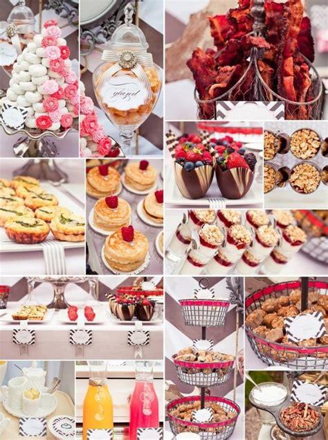 food ideas for bridal shower brunch wedding theme breakfast recipes 2551644 weddbook
