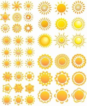 sunflower pattern coreldraw fruits and vegetables motor flower icon vector free vector