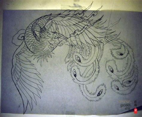 henna tattoo phoenix design