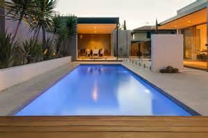 Swimming Pools Small Backyards Fibreglass Swimming Pools Melbourne Horizon Pools
