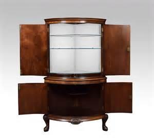 george iii style mahogany corner cocktail cabinet