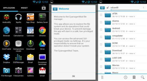 cm file manager apk cm file manager disponibile per tutti i dispositivi con almeno android ics chimerarevo