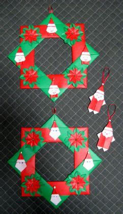 origami krans origami kerst origami