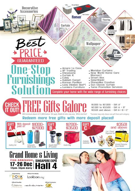 Singapore Home Design Singapore Expo 16 August by Grand Home Living The Largest Furniture Fair Is