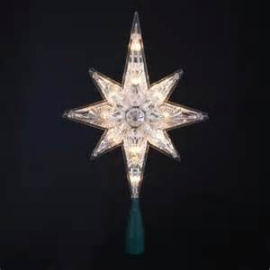 buy 10 5 quot lighted led 8 point star christmas tree topper