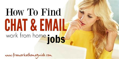 Online Chat Jobs Work From Home - work at home chat and email jobs
