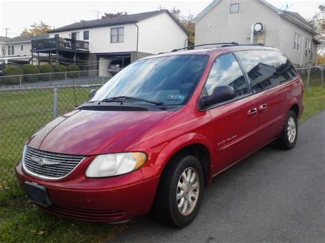 sell used 2001 chrysler town and country in scranton pennsylvania united states for us 1 995 00