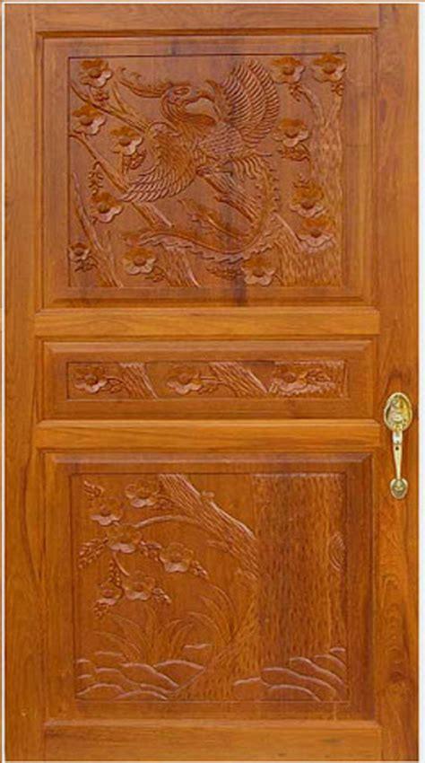 House Front Single Door Design by Front Door Pictures Kerala Model Wood Dsigns Wood Design