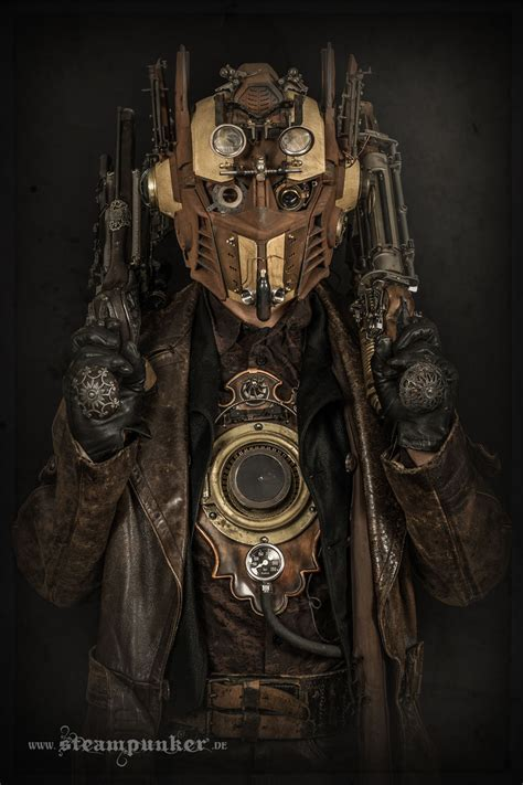 i hand craft steampunk costumes from old parts for movies