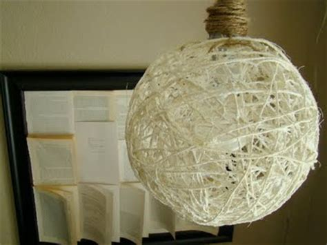 Yarn Light Fixture Someday Crafts Sisal Hanging Light And Yarn Balls