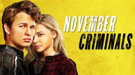november criminals review november criminals inside pulse