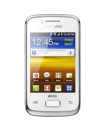 themes samsung galaxy duos s6102 samsung galaxy y dous s6102 pure white mobile phones