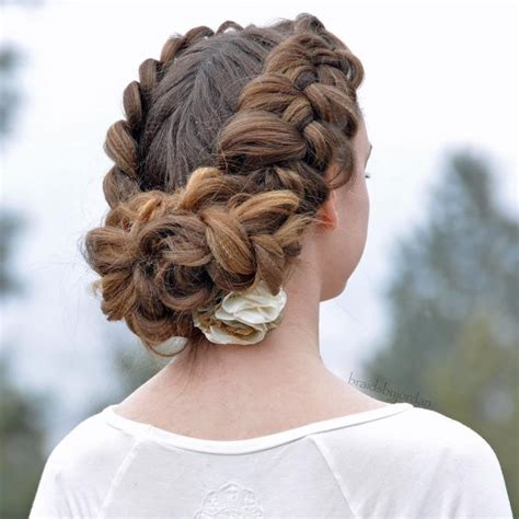hairstyles with braids patry jordan 25 updo hairstyles for long and medium hair a practical