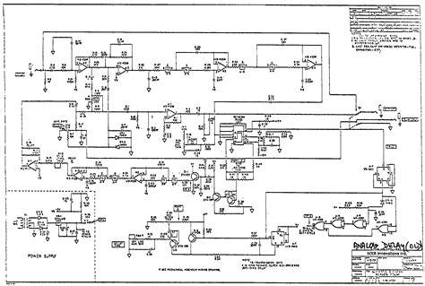 analog delay pedal schematic digital delay pedal 19