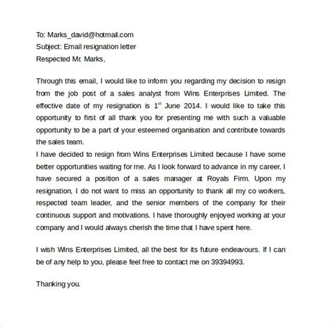 sle email cover letter template to 11 free documents to in pdf word