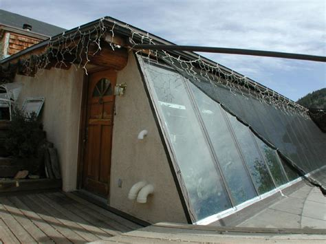 Earth Sheltered Home Plans by Attached Greenhouse Design With Sustainable Indoor Planter