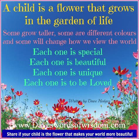 beautiful   flowers  poems child