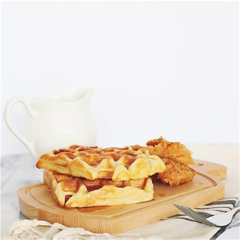 the best chicken and waffles recipe best chicken and waffles recipe via oheverythinghandmade