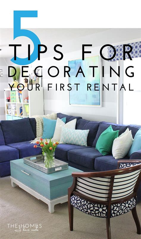 home decor rental 5 tips for decorating your rental