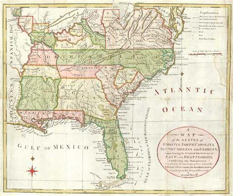 carolina virginia map a map of the states of virginia carolina south
