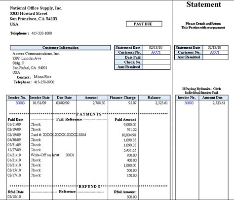 Accountmate Business Management And Accounting Software Software That Fits Customer Statement Template