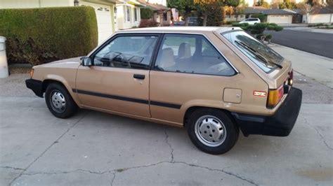 automotive air conditioning repair 1994 toyota tercel user handbook toyota tercel hatchback 1986 gold for sale jt2al32g4g0424534 1986 toyota tercel low miles