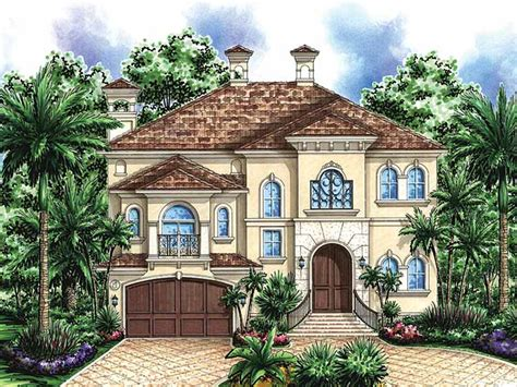 301 Moved Permanently Two Story House Plans Mediterranean