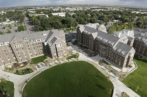 university of northern colorado housing unc west cus housing improvements denver mortenson