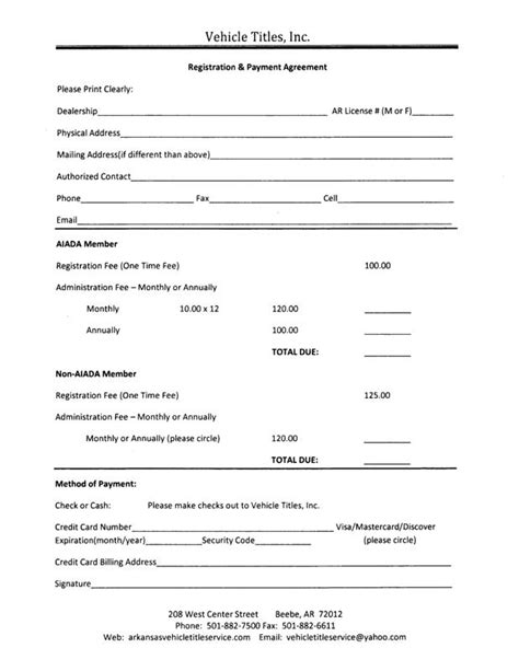 agreement forms free printable documents