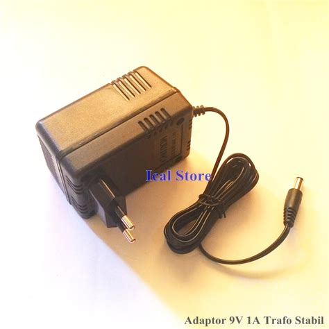 promo switching adaptor 9v 1a murah kwalitas bagus adaptor power supply dc 9v 1a trafo stabil ical store