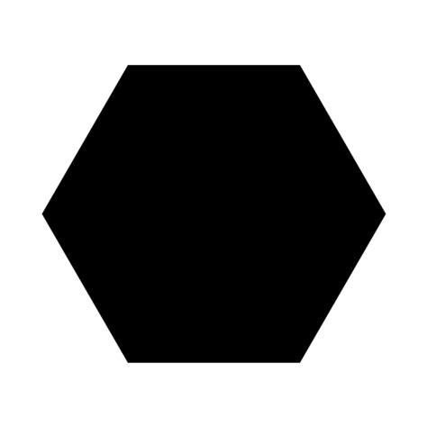 black hexagon on a white ground by feffecr on deviantart