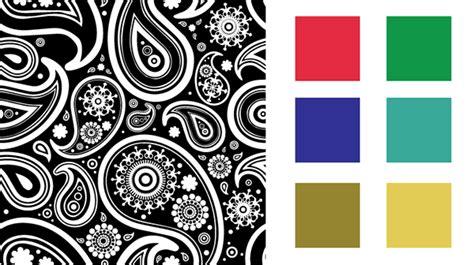 bandana pattern ai seamless paisley bandana pattern on behance