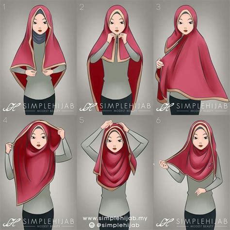 tutorial jilbab ombre 371 best images about he jab tutorials on pinterest