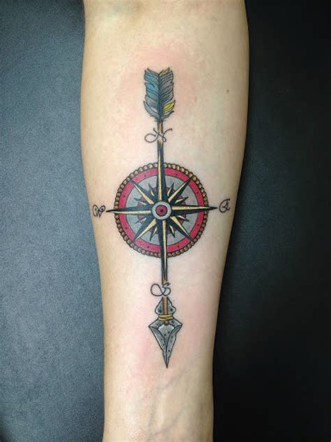 arrow compass tattoo 57 stylish arrow wrist tattoos