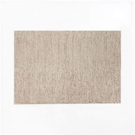 mini pebble wool jute rug mini pebble wool jute rug ivory west elm