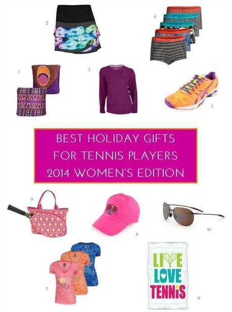 best holiday gifts for tennis players 2014 women s